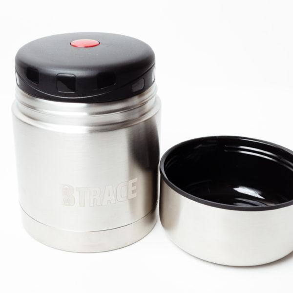 BTrace, термос для еды, открытый.