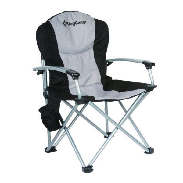 Кресло складное King Camp DELUXE STEEL ARM CHAIR 3887, стул, мебель, поход