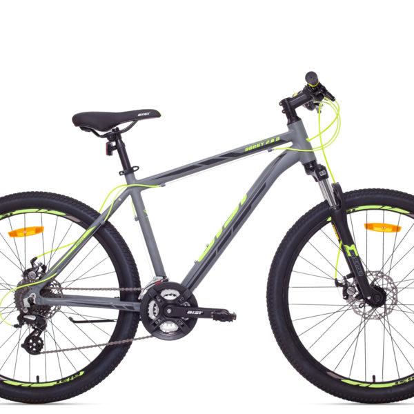велосипед Rocky-2.0-Disc-grey
