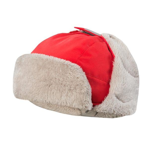 шапка зимняя теплая