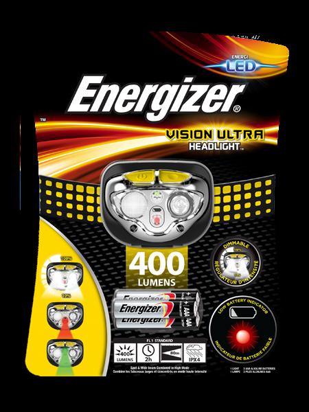 купить Фонарь ENERGIZER® Vision Ultra Headlight