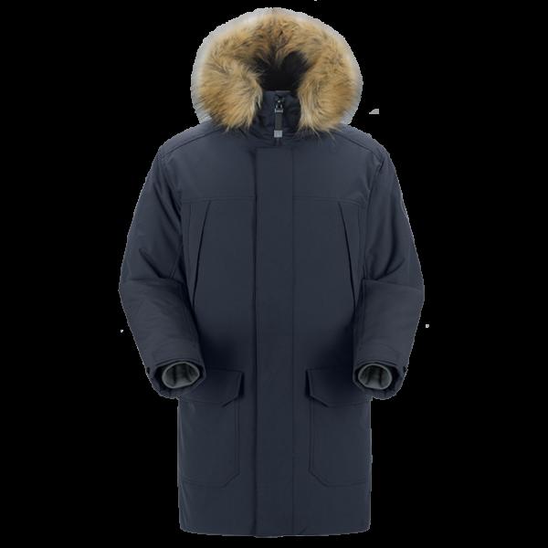 Теплая зимняя куртка мужская Сивера